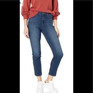 William Rast High Rise Slim Straight Jeans